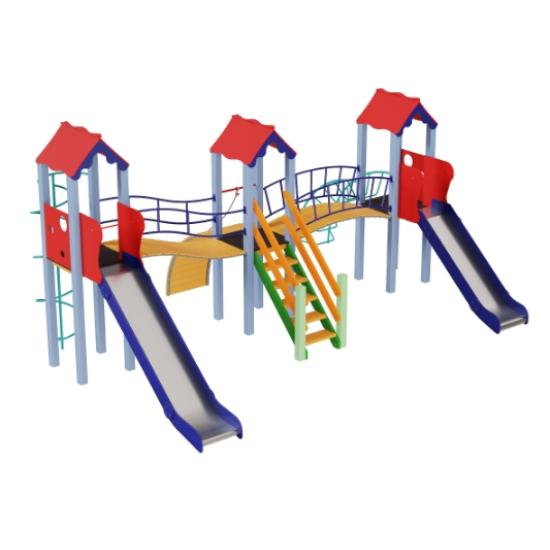 Детский игровой комплекс  Kidigo  Стена 1,2 и 1,5 - фото №1