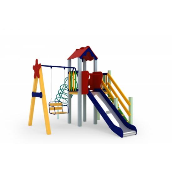 Детский игровой комплекс  Kidigo  Заяц 1,2 - фото №1