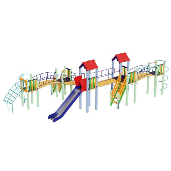 Детский игровой комплекс  Kidigo  Змейка 1,5 - фото №1
