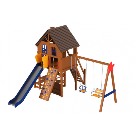 Детский игровой комплекс  Kidigo  Дача 1.8 - фото №1