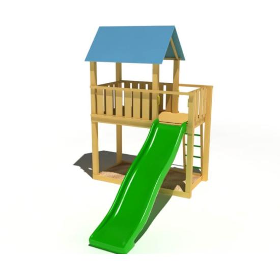 Детский игровой комплекс  Kidigo  Добрый 1,5 - фото №1