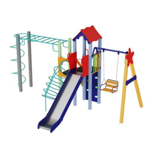 Детский игровой комплекс  Kidigo  Луч 1,5 - фото №1