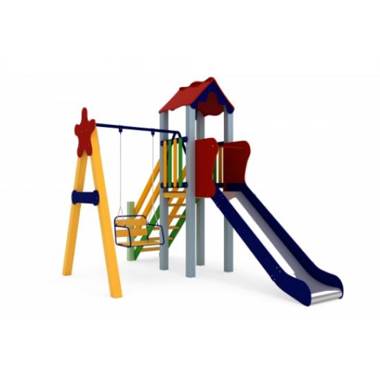 Детский игровой комплекс  Kidigo  Кроха 1,2 - фото №1