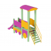 Детский игровой комплекс  Kidigo  Паровозик с горкой - фото №2