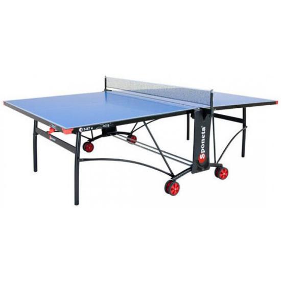 Теннисный стол  Sponeta S3-87Е WHITE/BLACK - фото №1