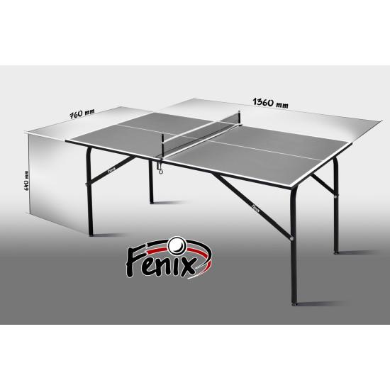 Теннисный стол  Феникс Kids anthracite - фото №1