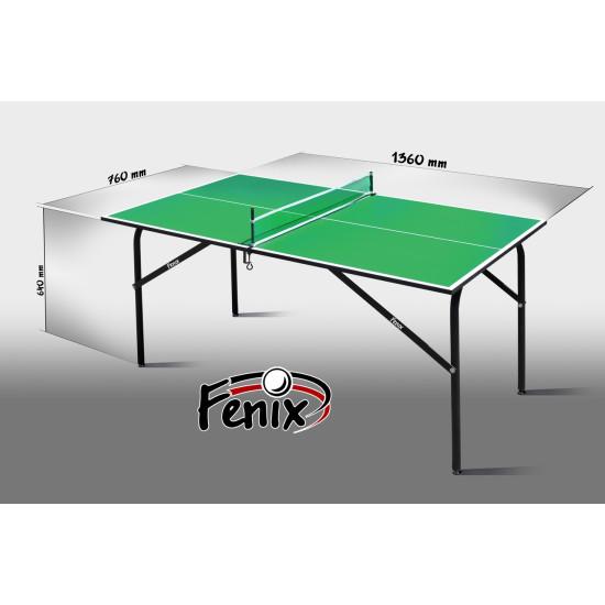 Теннисный стол  Феникс Kids green - фото №1