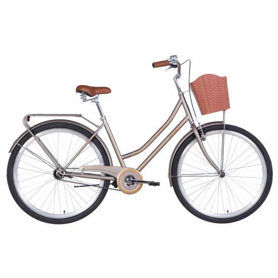 "Велосипед  Dorozhnik Topaz 28"" 2021 (коричневый) - фото №1"