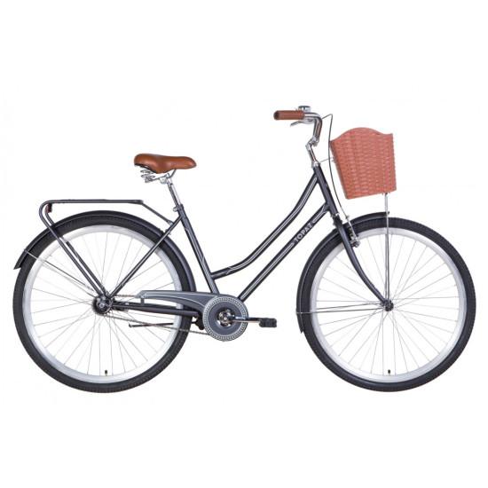 """Велосипед  Dorozhnik Topaz 28"""" 2021 (черный) - фото №1"""