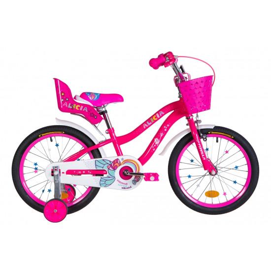 """Велосипед  Formula Alicia 18"""" 2021 (малиновый) - фото №1"""