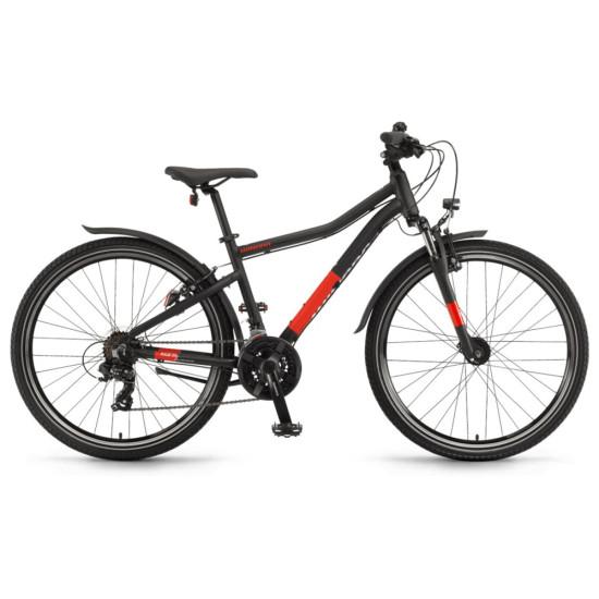 """Велосипед  Winora Rage 26"""" 21-G Tourney, рама 32 см, черный матовый, 2021 - фото №1"""