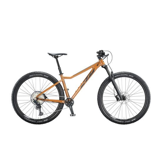 "Велосипед  KTM ULTRA EVO 29"", рама М, черно-золотой, 2020 - фото №1"