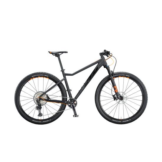 "Велосипед  KTM ULTRA 1964 PRO 29"", рама M, черно-оранжевый, 2020 - фото №1"