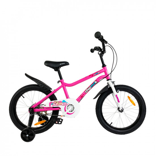 "Велосипед  RoyalBaby Chipmunk MK 16"" розовый - фото №1"
