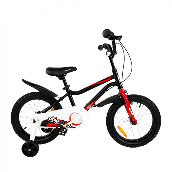 "Велосипед  RoyalBaby Chipmunk MK 16"" черный - фото №1"