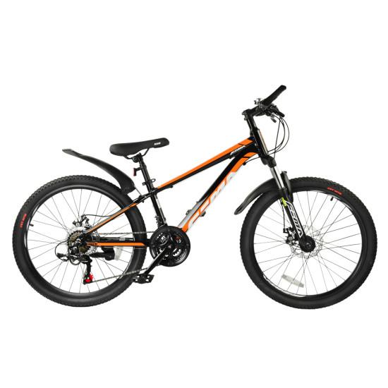 """Велосипед  RoyalBaby FEMA MTB 1.0 24"""" черный - фото №1"""