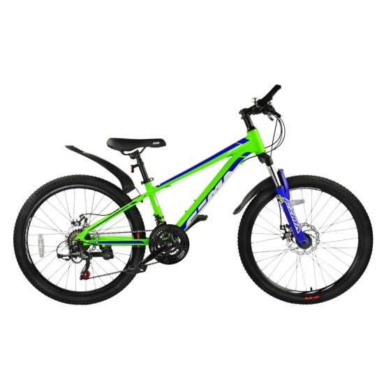 "Велосипед  RoyalBaby FEMA MTB 1.0 24"" лайм - фото №1"
