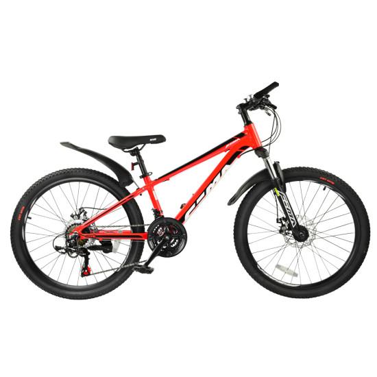 """Велосипед  RoyalBaby FEMA MTB 1.0 24"""" красный - фото №1"""