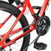 """Велосипед  RoyalBaby FEMA MTB 1.0 24"""" красный - фото №8"""