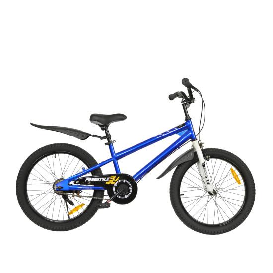 "Велосипед  RoyalBaby Freestyle 20"" синий - фото №1"