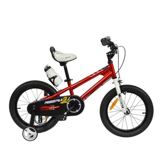 """Велосипед  RoyalBaby Freestyle 16"""" красный - фото №1"""