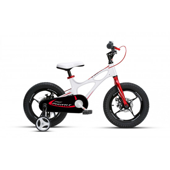 "Велосипед  RoyalBaby SPACE SHUTTLE 14"" белый - фото №1"