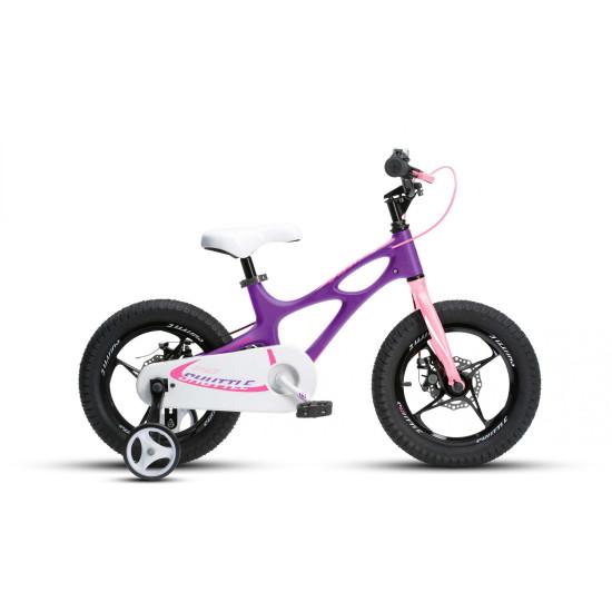 "Велосипед  RoyalBaby SPACE SHUTTLE 18"" фиолетовый - фото №1"