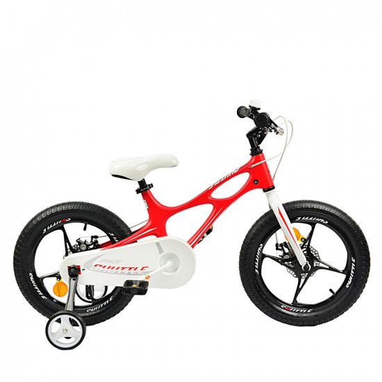 "Велосипед  RoyalBaby SPACE SHUTTLE 18"" красный - фото №1"