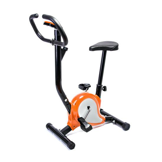 Велотренажер  Hop-Sport Fitline ES-8018 Point Orange - фото №1